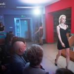 Modelka podczas pokazu