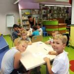 Dzieci w bibliotece