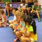 Dzieci z flamastrami
