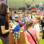 Powitanie dzieci w bibliotece