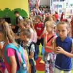 Zapoznanie się dzieci ze zbiorami biblioteki