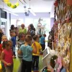 Dzieci zachwycone wystawą