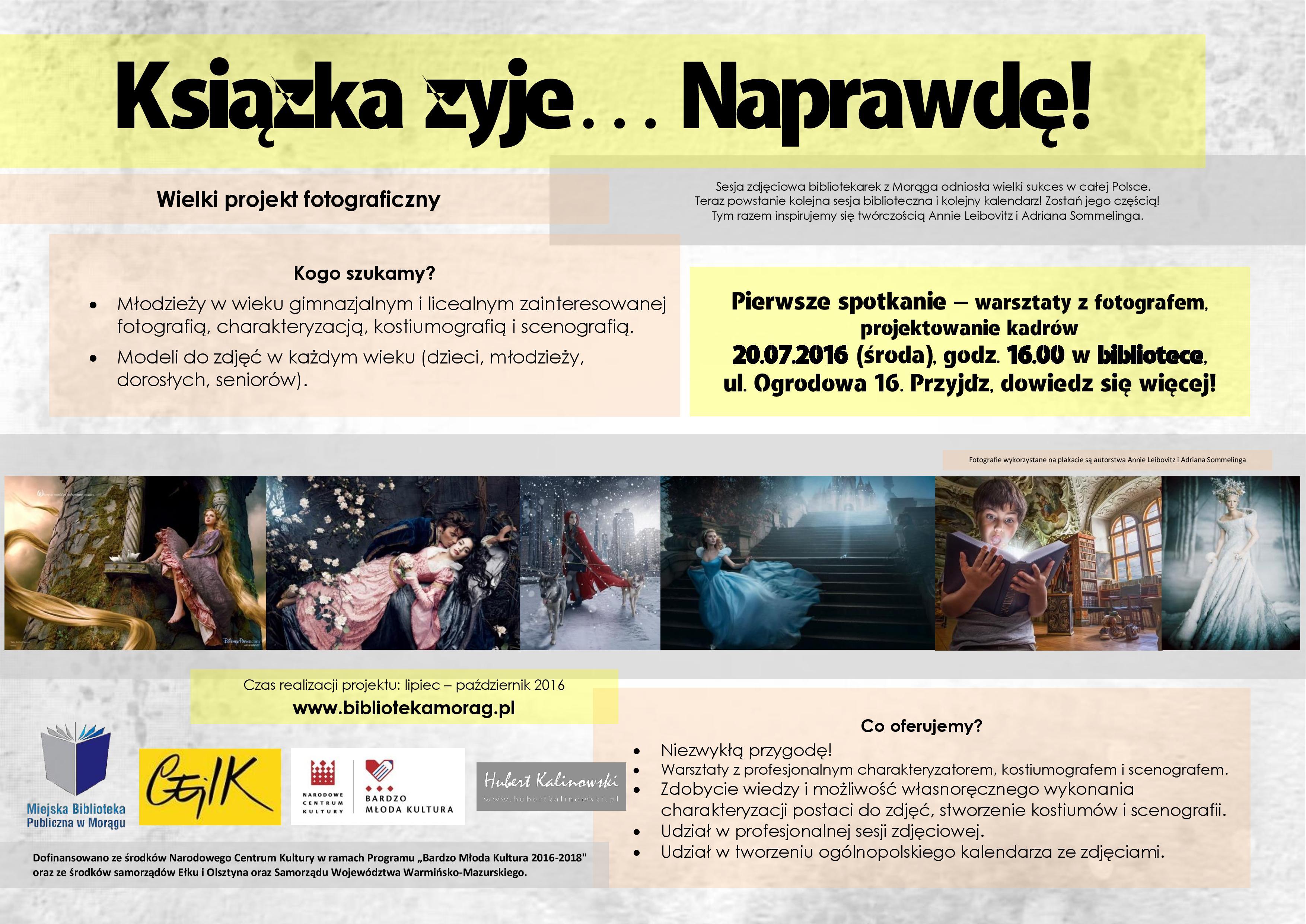 """Projekt """"Książka żyje… Naprawdę"""""""