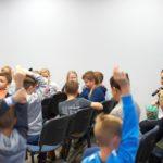 Aktywna publika podczas warsztatów
