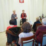 Pani Dyrektor oraz Wioletta Klinicka podczas przemowy