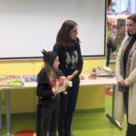 Dziecko w przebraniu kota, Bibliotekarka oraz Anita Głowińska