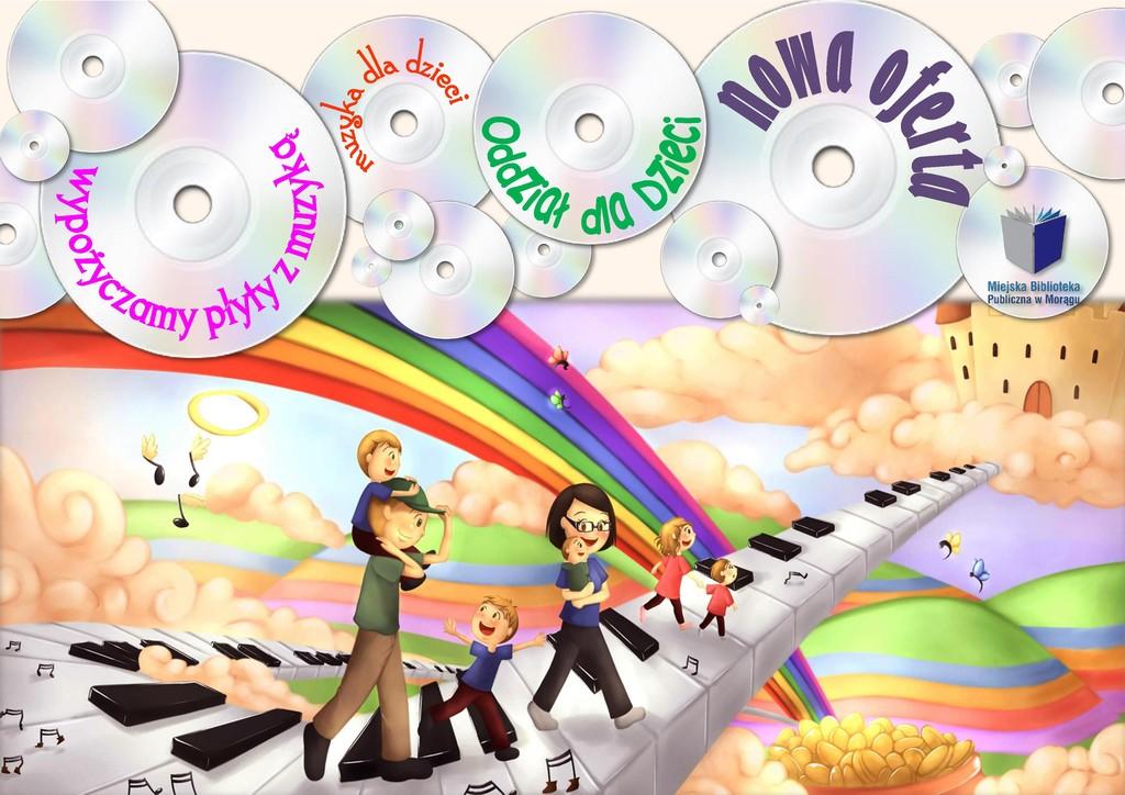 Logo Muzyczne przeboje w Oddziale dla Dzieci