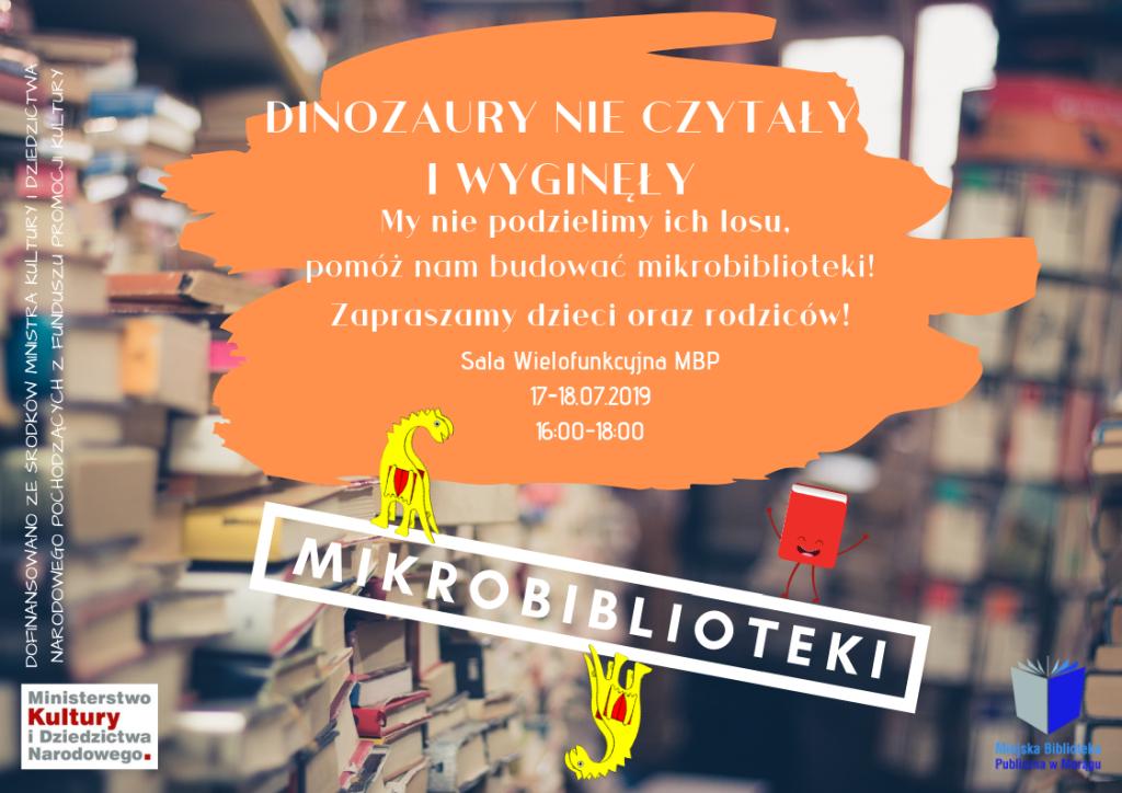 Plakat Mikrobiblioteki