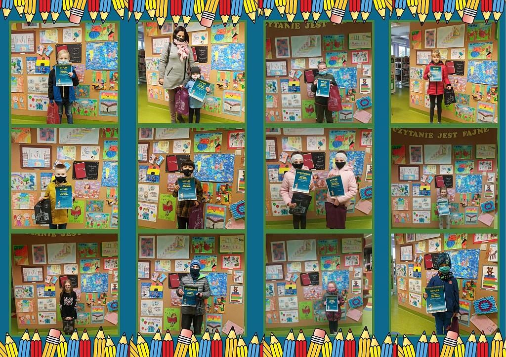 Mozaika utworzona z dwunastu zdjęć laureatów
