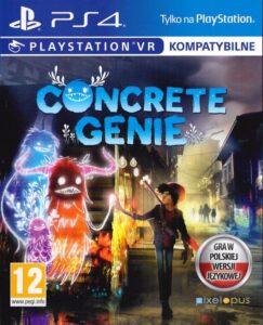 """Okładka gry """"Concrete Genie"""" na PlayStation4"""