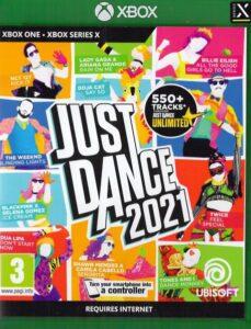 """Okładka gry """"Just Dance 2021"""" na Xbox Series X"""