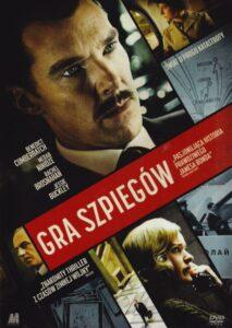 """Okładka filmu """"Gra szpiegów"""""""