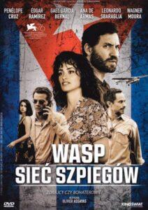 """Okładka filmu """"WASP - sieć szpiegów"""""""