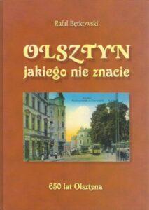 """Okładka książki """"Olsztyn, jakiego nie znacie"""""""