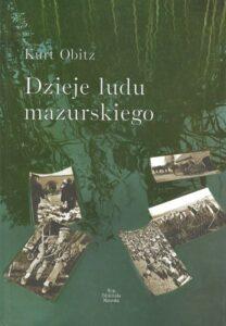 """Okładka książki """"Dzieje ludu mazurskiego"""""""