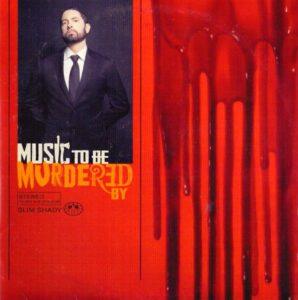 """Okładka płyty """"Music to be murdered by"""" Eminema"""