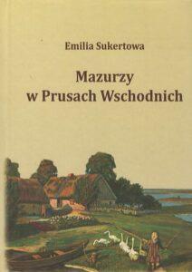 """Okładka książki """"Mazurzy w Prusach Wschodnich"""""""