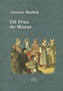 """Okładka książki """"Od Prus do Mazur"""""""